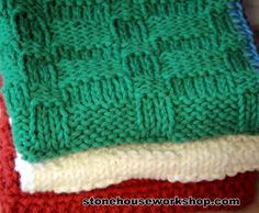 The Knit Dishcloth Pattern Collection Every Knitter Needs