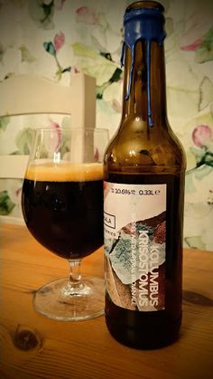Pohjala - Kolumbus Krisostomus Barrel Aged(Bourbon & Madeira)Imperial Brown Ale(+Oat, Rye & Lactose) 10,6% pullo****1/4  11.2.2020 KOTONA from ESTONIA Lithuania, Rye, Bourbon, Beer Bottle, Barrel, Russia, Drinks, Brown, Food
