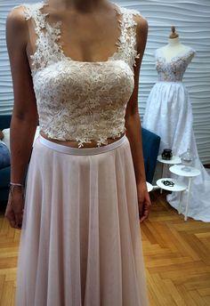 Pink isn't just a color. It's an attitude  #meglam #surmesure #bridal #bridetobe #weddingdressfitting