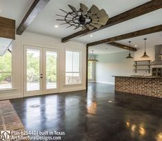 Modern Farmhouse Plan 62544DJ in reverse comes to life in Texas - photo 008