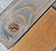 Weathered Pine Stain-- No need to wait decades to get the weathered board look! This tip goes perfectly with Building classic antique furniture with pine by Blair Howard, found at 684.1 HOW.