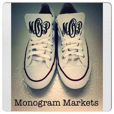 Monogram Converse