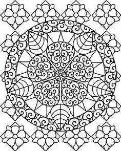 Hard Printable Coloring Pages Difficult Az