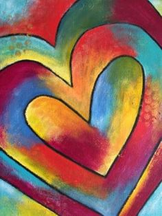 Expand Your Heart Energy with the Healing Energy Painting Experience for Women - Chrysalis Creative Arts - Expressive Arts for Women (Menlo Park, CA) | Meetup