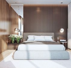 Modern Bedroom Ideas - Search modern bedroom embellishing ideas as well as layouts. Discover bedroom ideas and design ideas from a variety of modern bedrooms, including shade, . Home, Home Bedroom, Luxurious Bedrooms, Modern Master Bedroom, Apartment Decor, Modern Interior Design, Modern Bedroom, Bedroom, Hotels Room