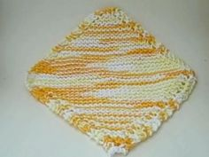 Grandmother's Favorite Dishcloth. Variations included