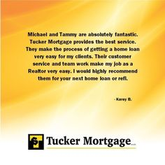 #TuckerMortgage     #mortgage     #testimonial     #CustomerService     #keepitlocal     #Indianapolis     #Indiana
