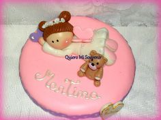 Centro de Torta en porcelana Fría