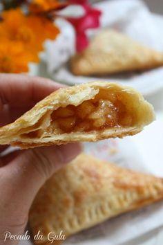 receita tortinha de maçã do mac, receita de tortinha folhada de maçã, receita para usar maçãs, receita de massa de torta com cream cheese