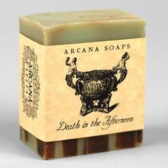 Limited Edition Handmade Soap The scent of decadence and delightful risks. We drew on an old recipe for an infamous cocktail to create this pastiche of absinthe, champagne, sugar, blood orange, tangerine, aniseed and lemongrass. Made with hemp seed oil, avocado oil and coconut milk.