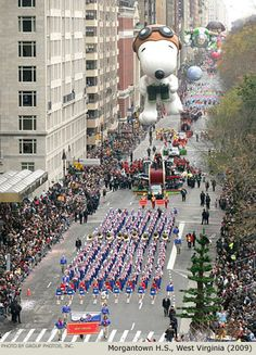 Macy's Thanksgiving Day Parade--The BEST part of Thanksgiving!