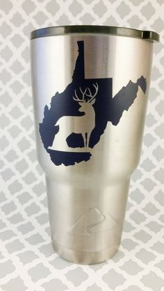State Buck Decal ***DECAL ONLY*** by LowTideCrafters on Etsy