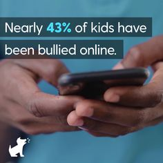 If your child is a victim of cyberbullying, you can help. Learn how to stop cyberbullying with these eight facts. Bark monitors texts, email, and social media platforms for potential safety concerns, including cyberbullying. Cyberbullying Prevention, Stop Cyber Bullying, Bullying Videos, Funny Twitter Posts, Cyber Safety, Good Vibe Songs, Net Neutrality, Internet Safety