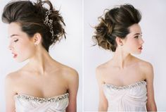 Elegant Modern Wedding Hair
