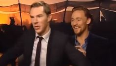 This Hiddleston vs. Cumberbatch Dance-Off Holds the Key to Inner Peace | Tor.com
