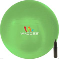 Wacces 75 cm Professional Burst Resistand Stability and Body Ball (Green) *** Click on the image for additional details. (This is an Amazon affiliate link)