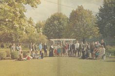 Flashback Friday: The Class of 1965 enjoying a day outside.