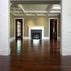 Dark Floors Doors Mantles And Ceiling Beams