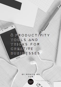 Want to get more organised, stay focused, be more productive and achieve your creative business goals faster? Click through to download my top 8 productivity tools and tricks or save the pin to read later!