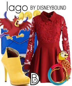 Everyone will be squawking when they see you in this Iago inspired outfit from Aladdin  | Disney Fashion | Disney Fashion Outfits | Disney Outfits | Disney Outfits Ideas | Disneybound Outfits |