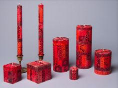 Thumbprint Artifacts offers candles by Kapula - a WFTO member. All candles are individually hand poured & hand painted by artisans- making each a piece of art. Fall Candles, Christmas Candles, Christmas Home, Christmas Crafts, Christmas Decorations, Welcome Fall, Candle Making, African Art, Berry
