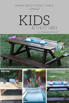 Take a picnic table