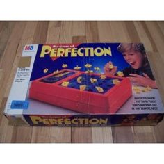 Perfection. LOVED this game as a kid. I have to admit, I jumped a little when time ran out.