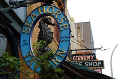 Seahorse Tavern, Halifax, Nova Scotia  I think it's the oldest bar in Canada...