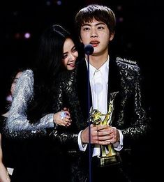 Jinsoo Jin and jisoo BTS couple