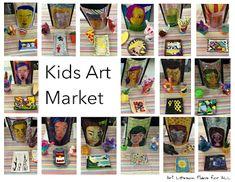Kids Art Market: Collaboration: Mixed Movement Dot Circles with Sonya Delaunay, Elizabeth Murray and Seurat Middle School Art, Happy Art, 2d Art, Elements Of Art, Art Lesson Plans, Art Education, Education Sites, Elementary Art, Teaching Art