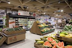 Meny: A fresh food authority – store design concept by Household Visual Merchandising, Vegetable Shop, Food Retail, Fruit Shop, Retail Store Design, Shop Fittings, Design Furniture, Lobbies, Stores