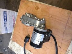 ~ $ 40.00 ~ AC electric motor and gear reduction #Electric