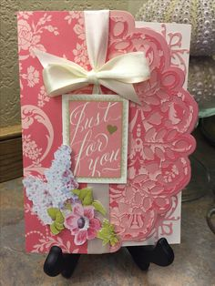 Anna Griffin card by Lisa Rich