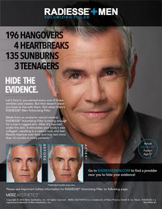 Radiesse for Men. Call 210-545-3327 to schedule your complimentary consultation.