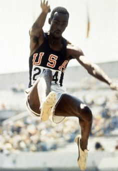Bob Beamon breaking the long jump world record, Mexico City, 1968 Olympic Games… Mexico Olympics, 1968 Olympics, Summer Olympics, Olympic Games, Olympic Gymnastics, Olympic Sports, Gymnastics Quotes, Mexico 68, Boxing