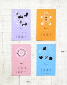 "Free Printable ""Sweet New Year"" Calendar 2013"