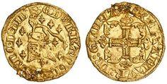 Gold Half Florin of Edward III