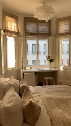 Dream House Interior, Dream Home Design, Home Interior Design, House Design, Room Design Bedroom, Bedroom Decor, Future House, Dream Apartment, London Apartment