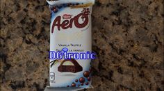 NESTLE AERO VANILLA TRUFFLE chocolate REVIEW VIDEO Canadian Snacks, Marble Chocolate, Food Reviews, Chocolate Truffles, Junk Food, Vanilla, White Trash Food