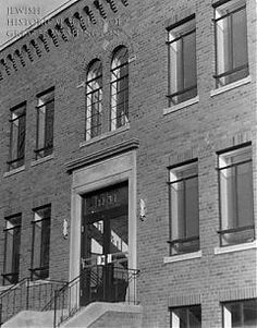 When the Jewish Social Service Agency moved into a new office building adjacent to the Hebrew Home of Greater Washington on Spring Road, NW, the Hebrew Home leased the site to the agency for an annual rent of one dollar. Mrs. Henry Morgenthau, wife of the Secretary of the Treasury, presided at the ribbon-cutting ceremony on December 29, 1940.