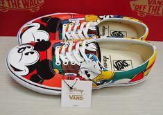 Vans Era Disney Mickey & Friends Multi VN000ZULGHF men's Size 10.5 #ad #vans #disney