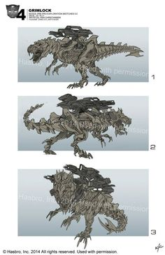 Transformers News: Re: Transformers: Age of Extinction Concept Art from Robert Simons