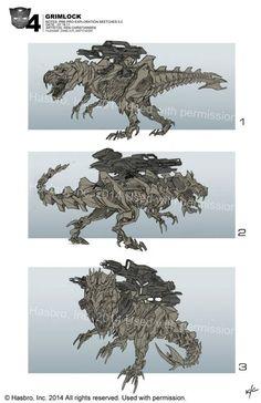 Grimlock concept art