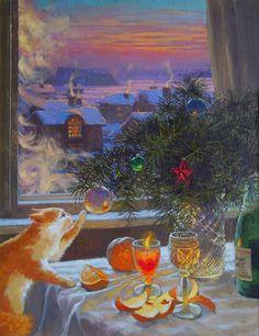Волшебство Нового года для каждого изнас складывается изтысячи мелочей— запахов елки имандаринов, веселой суеты, детских воспоминаний, домашних традиций, надежд иожиданий.