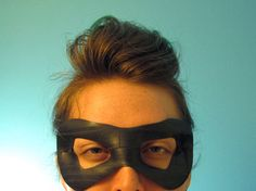 bicycle inner tube mask by tweek