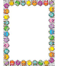 Colorful Owls Computer Paper | Classroom décor from Carson-Dellosa