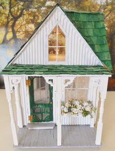 Cinderella Moments The Shabby Streamside Studio Dollhouse going to the New York Times!