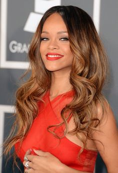 Rihanna ombre http://coffeespoonslytherin.tumblr.com/post/157380175497/finger-waves-for-short-hair-short-hairstyles