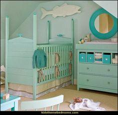 Ocean Baby Bedding | under the sea baby bedroom decorating ideas - ocean theme baby bedroom ...