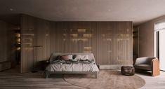 Luxury Bedroom Design, Bedroom Closet Design, Home Room Design, Bed Design, Living Room Designs, House Design, Interior Design, Indian House Plans, Small Apartment Interior